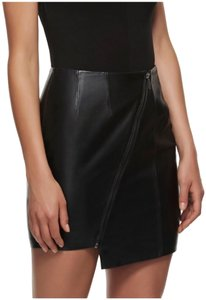 Kendall + Kylie Mini Skirt Black