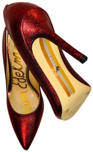 5ee34c832c2904 Red Sam Edelman Pumps - Up to 90% off at Tradesy