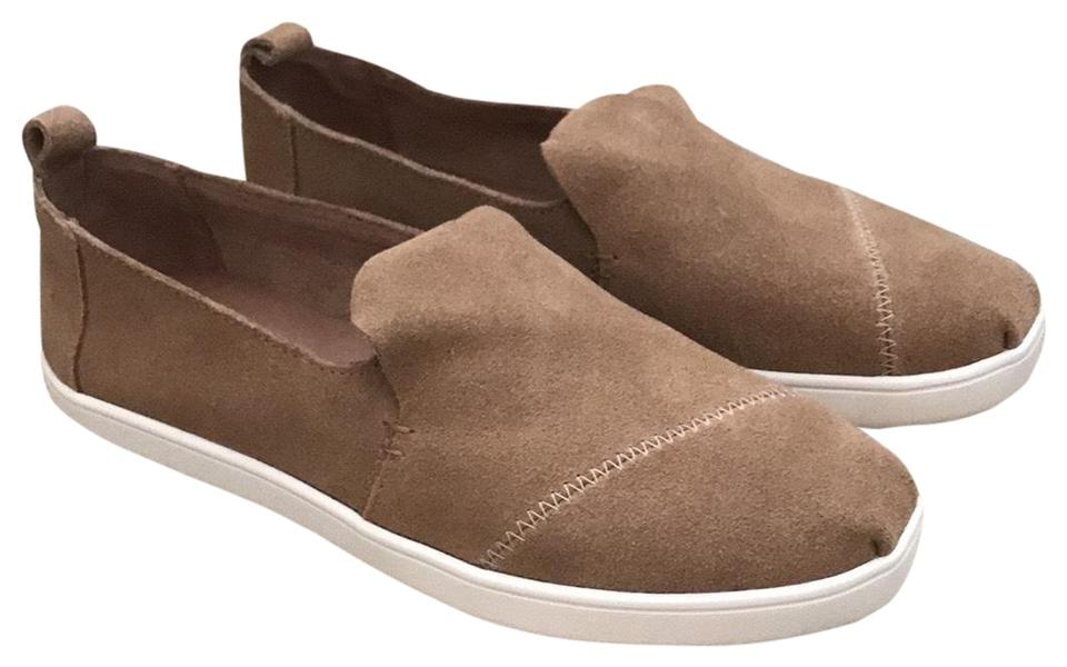 b20ce8a4e99 TOMS Toffee Deconstructed Suede Alpargata Sneakers Size US 8 Regular ...