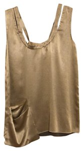 Marni Top gold silk