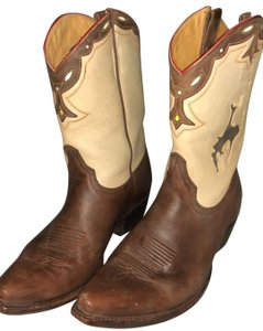 Old Gringo brown and cream Boots