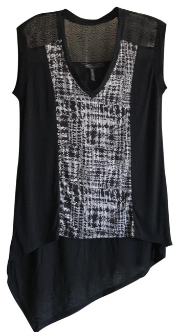 Item - Black with Black/Gray Pattern Kerra #flu1q214-003 Tunic Size 2 (XS)