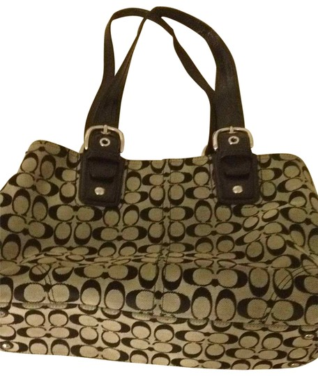 Preload https://item3.tradesy.com/images/coach-in-in-black-and-grey-tote-24967-0-0.jpg?width=440&height=440