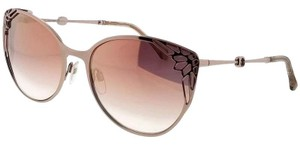 Roberto Cavalli RC1033-34U-63 Cat Eye Women's Bronze Frame Red Lens Sunglasses