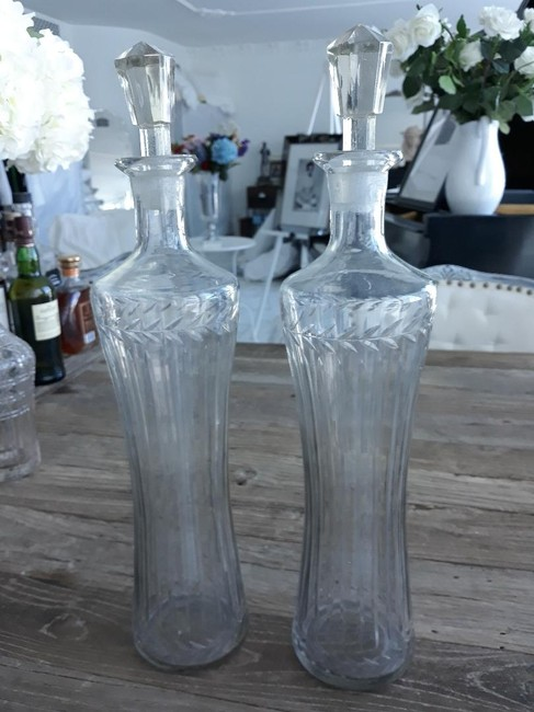 Item - Etched Crystal Fine Decanters