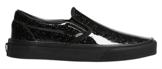 c6194f2efeab00 Vans Classic Slip-on In Patent Galaxy Black Sneakers Size US 10 ...
