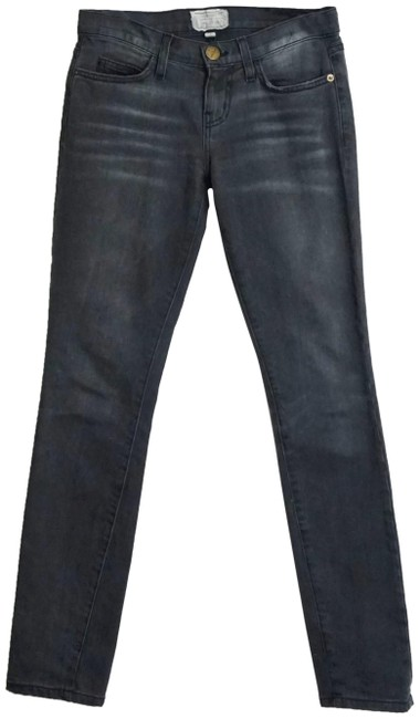 Item - Grey Dark Rinse The Cut In Wolverine Skinny Jeans Size 24 (0, XS)