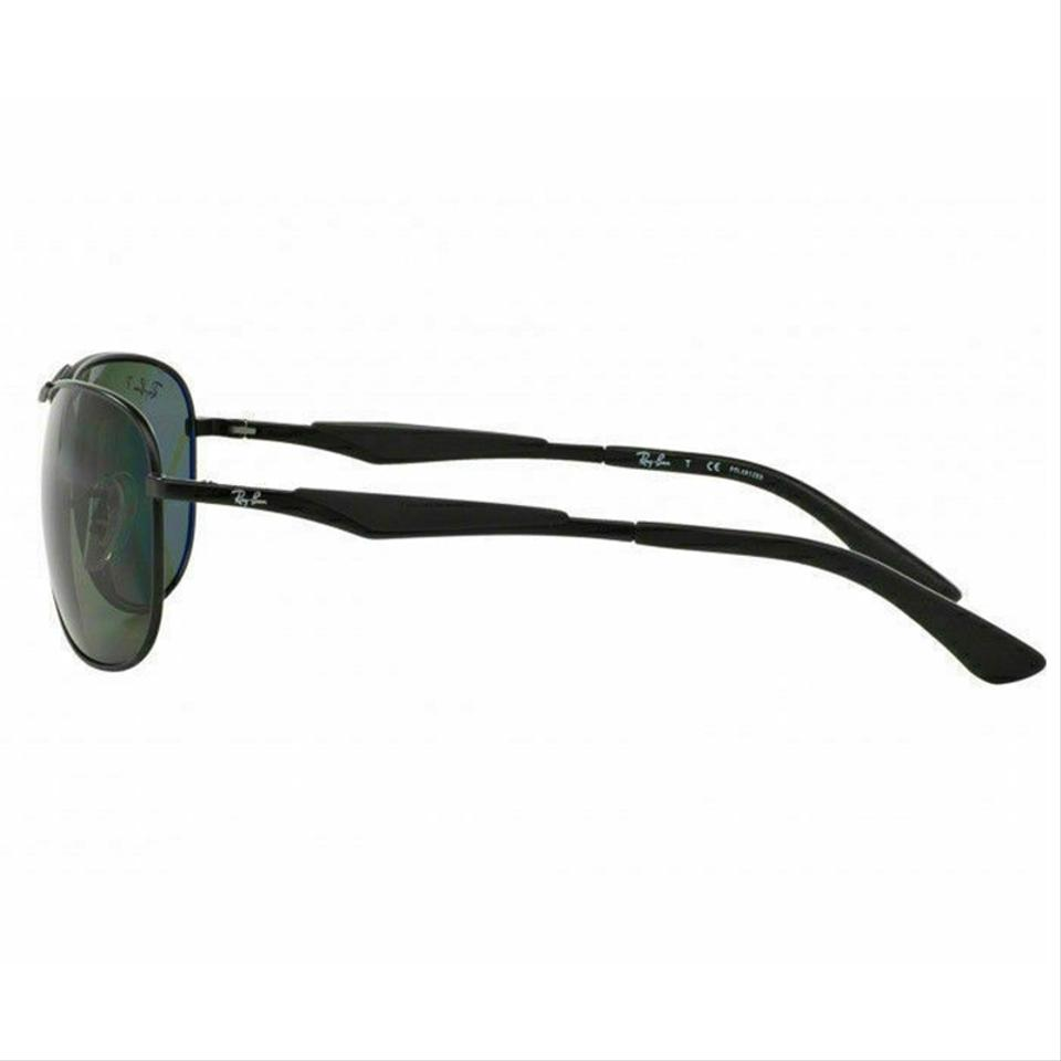 00c4846e99 Ray-Ban Black Frame   Green Classic G-15 Polarized Lens Rb3519 006 ...