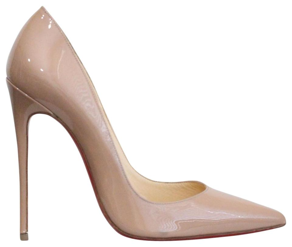 846e4ee326 Christian Louboutin Beige So Kate Patent Leather Pumps. Size: EU 37 (Approx.  US 7) ...