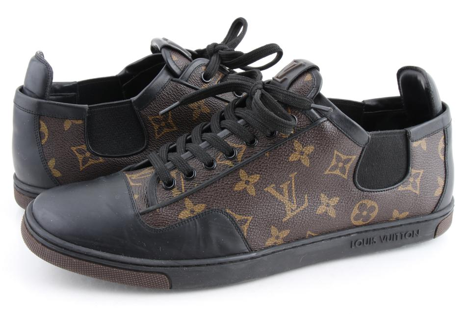 7ded5b88fe8 Louis Vuitton Multicolor Slalom Monogram Canvas Sneaker Shoes 12% off retail