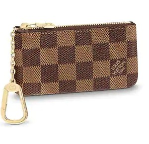 Louis Vuitton Damier Ebene 2019 gift set New Key Pouch Wallet/ small leather