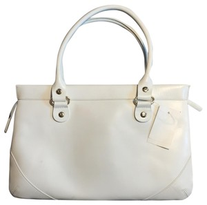 Kate Spade Leather Wynn Sutton Satchel in white
