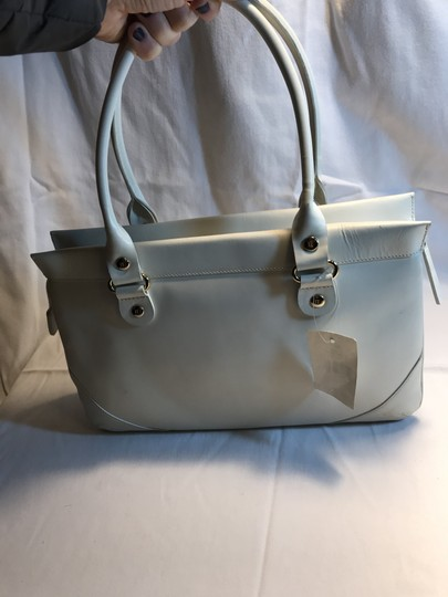 Kate Spade Leather Wynn Sutton Satchel in white Image 2