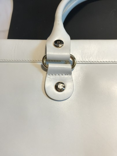 Kate Spade Leather Wynn Sutton Satchel in white Image 4