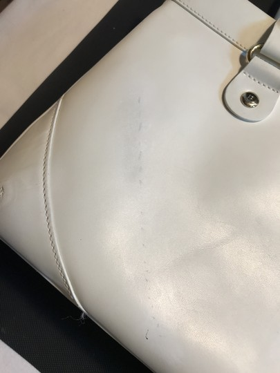 Kate Spade Leather Wynn Sutton Satchel in white Image 9