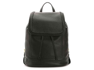 Cole Haan Leather Simple Elegant Work Travel Backpack