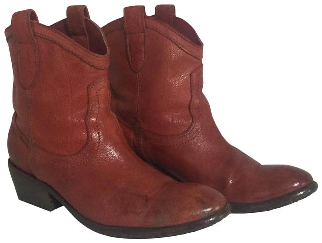 Frye Burnt Red Carson Shortie Boots/Booties Size US 8 Regular (M, B) Frye Burnt Red Carson Shortie Boots/Booties Size US 8 Regular (M, B) Image 1