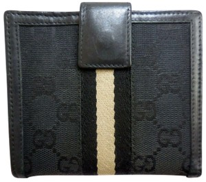 Gucci Gucci Jackie striped center wallet