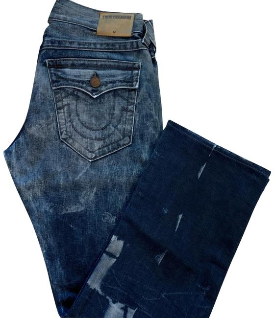 Item - Blue Wash Acid Denim Straight Leg Jeans Size 10 (M, 31)