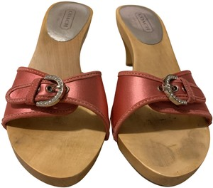 29b3599ad52 Pink Coach Sandals - Up to 90% off at Tradesy