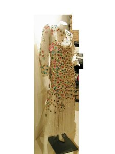 Just Female Vintage Ball Gown Mob Longsleeve Covered Dress