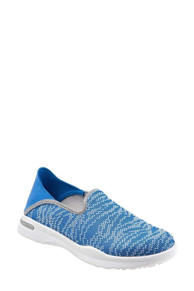 1ce7969ecea SoftWalk Blue Convertible Slip-on Simba Knit Flat Sneaker Sneakers Size US  9 Wide (C, D) 13% off retail