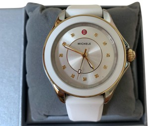 "Michele "" INTERCHANGEABLE STRAP"" NWT Cape Topaz WATCH MWW27A000024"
