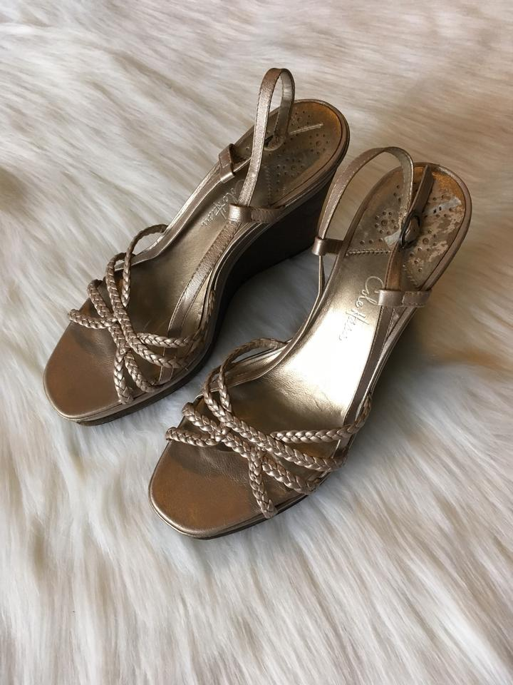 930ee7413b98 Cole Haan Braided Strappy Sandals Open Toe Cork Woven Womens Nike ...