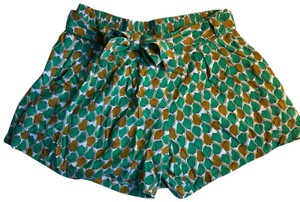 Daughters of the Liberation Dress Shorts Green print