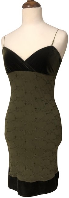 Item - Army Green Short Cocktail Dress Size 4 (S)