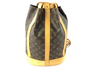 Louis Vuitton Lv Randonnee Monogram Pm Backpack