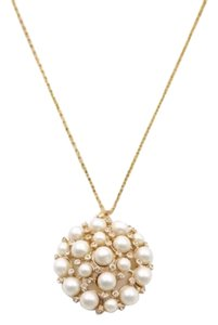 Kate Spade KATE SPADE * Cluster of Pearls Pendant Necklace