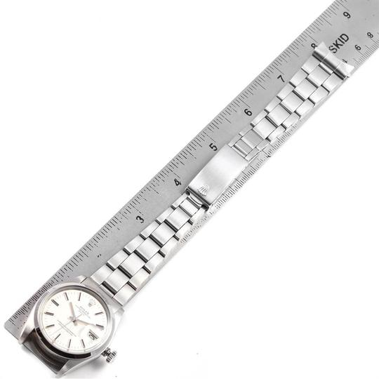 Rolex Rolex Date Silver Dial Automatic Steel Vintage Mens Watch 1500