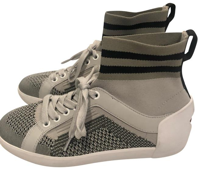 Item - Gray and White Sneakers Size EU 36 (Approx. US 6) Regular (M, B)