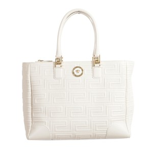Versace Tote in Off White