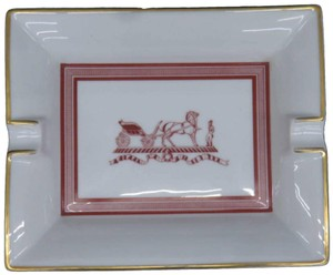 Hermès Horse Logo Ashtray Plate Dish Bowl 235010