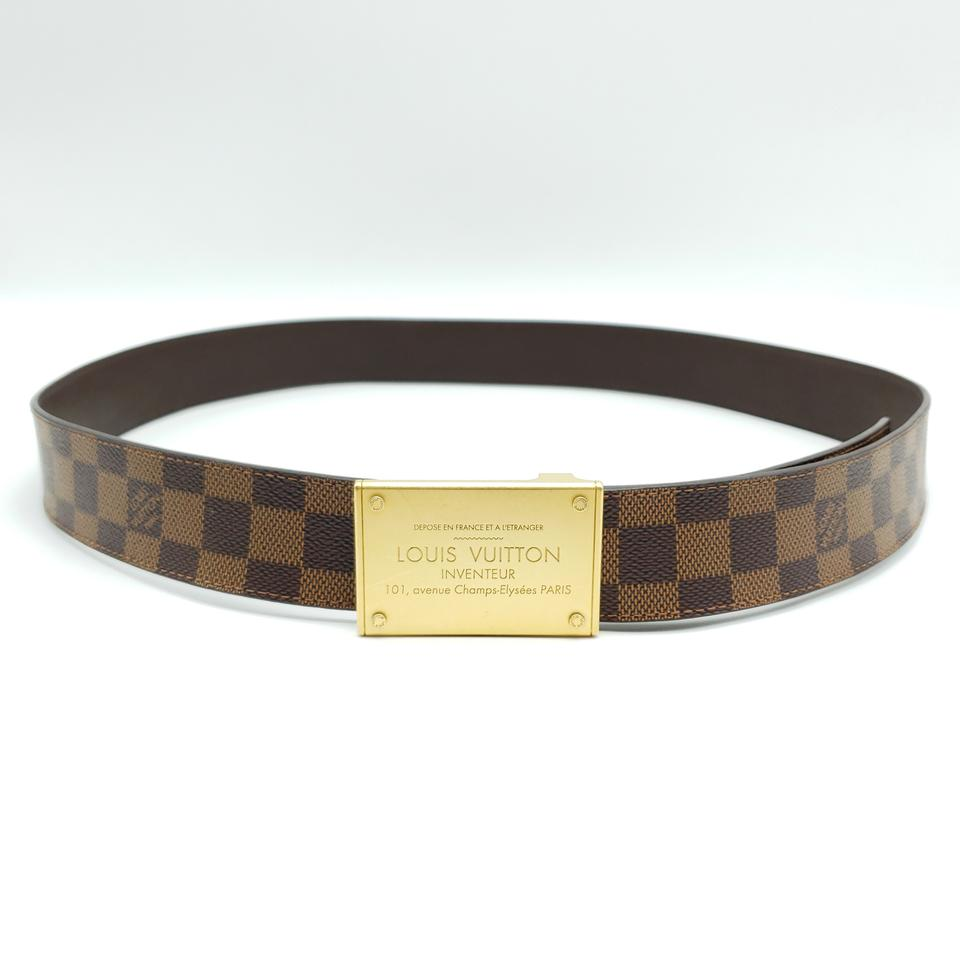 aa30c7ae92e2 Louis Vuitton Louis Vuitton Neo Inventeur Reversible 40mm Belt Damier Ebene  Image 11. 123456789101112