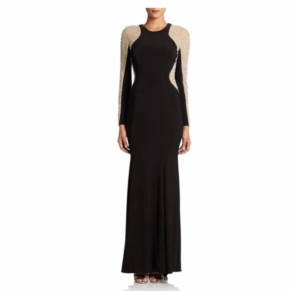 Xscape Black 0500077918092 Long Formal Dress