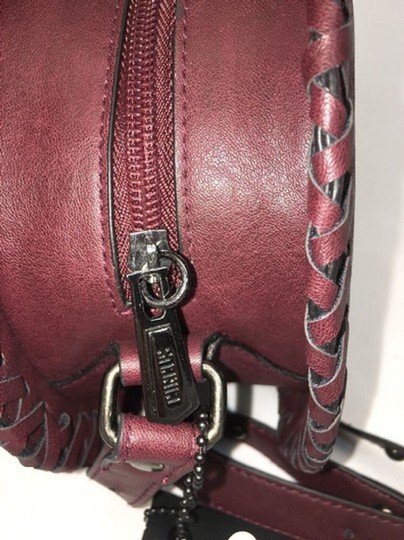 cfe1e19ba709 Circus by Sam Edelman Mercer Maroon Faux Leather Cross Body Bag ...