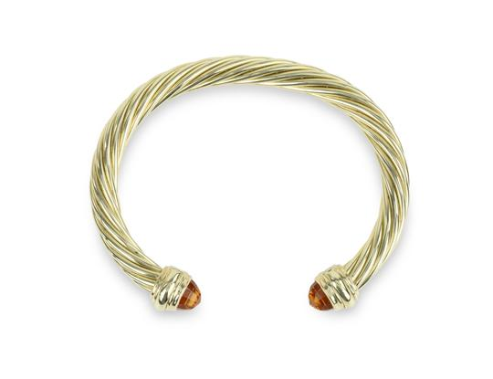 Preload https://img-static.tradesy.com/item/24972058/david-yurman-gold-citrine-14k-yellow-72mm-men-s-cable-bracelet-0-1-540-540.jpg