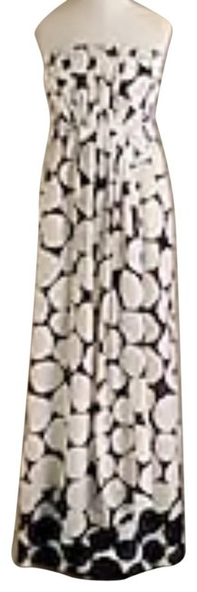 Item - White and Purple 26949 Long Casual Maxi Dress Size 4 (S)