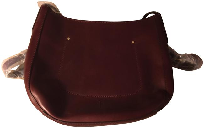 Item - Olivia Wine - Burgandy Leather Cross Body Bag