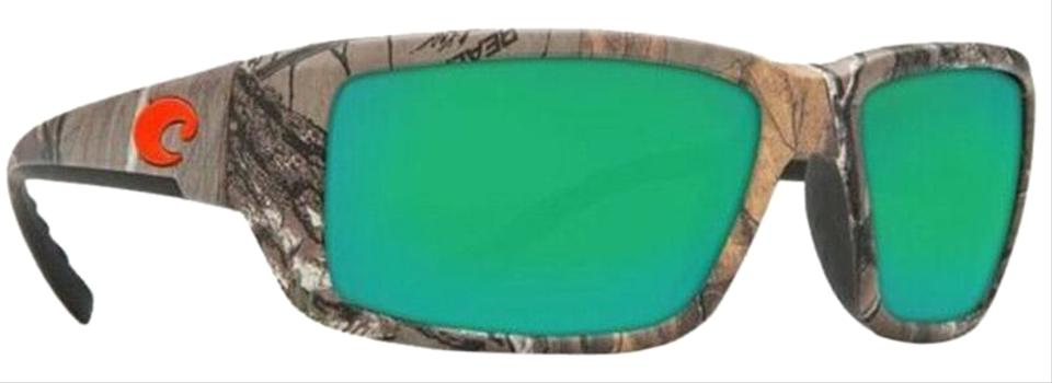 6add92f6ea Costa Del Mar Realtree Xtra Camo Frame   Green Mirrored Polarized 580g Lens  Tf69-ogmglp Unisex Sports Style Sunglasses 38% off retail