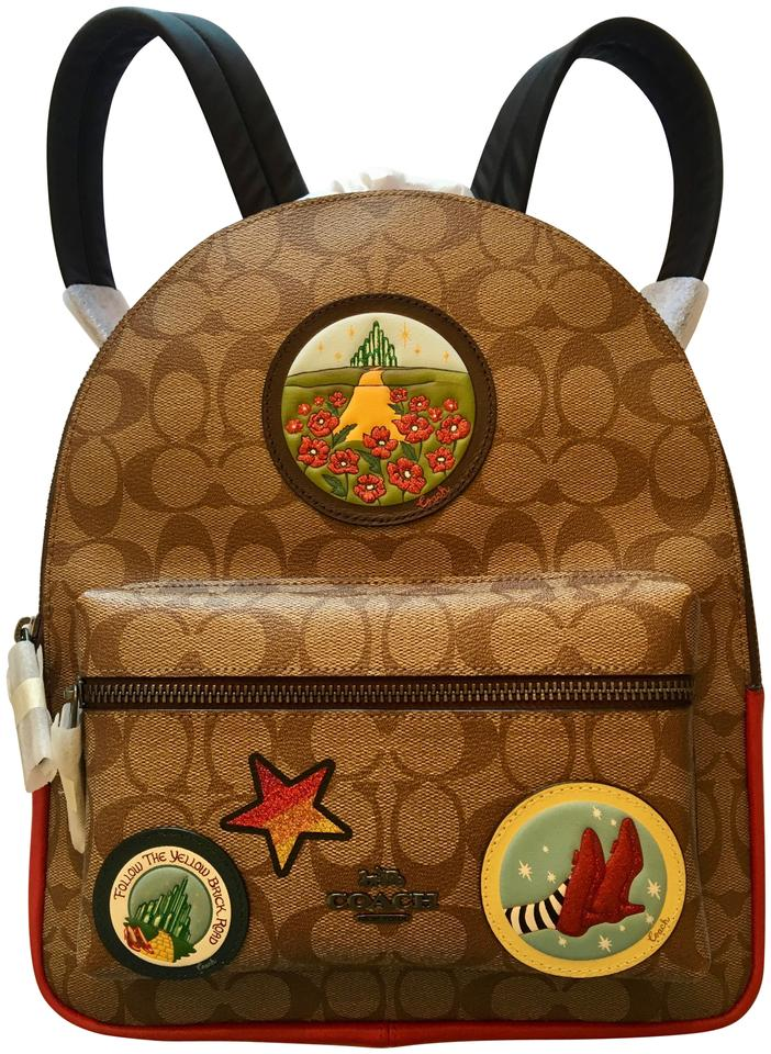 989d7c7730e0 Coach Wizard Of Oz Brown Leather Backpack - Tradesy