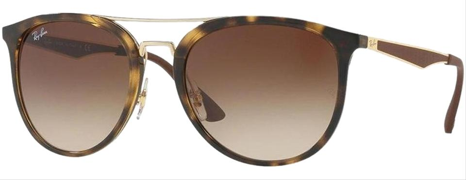 4c5a601882 Ray-Ban Tortoise Brown Frame   Brown Gradient Lens Rb4285 710 13 ...