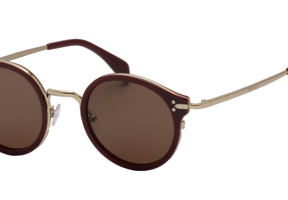 e0f13823cd08 Céline CLINE Unisex Sunglasses CL41082S 46mm OPAL BURGUNDY DARK 02JL Image  2. 123