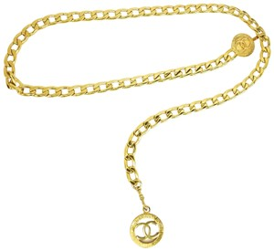 "Chanel Metal Chain ""CC"" Necklace - fits up to 32"" (nr)"