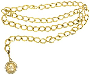 "Chanel Metal, Chain ""CC"" Necklace - fits up to 33"" (nq)"