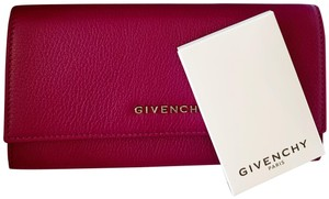 Givenchy Givenchy Pandora Long Flap Wallet in Leather