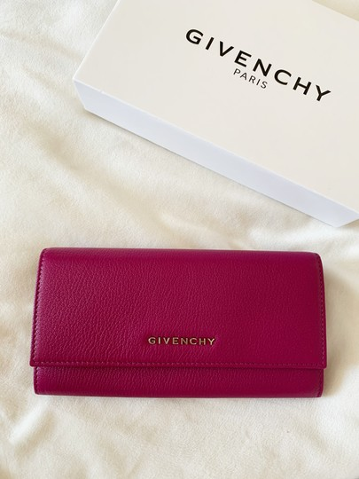 Givenchy Givenchy Pandora Long Flap Wallet in Leather Image 1